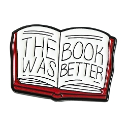 The Book was Better Lapel Pin - [1