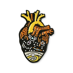 Heart of the Universe Lapel Pin - [1 1/4'' Tall]