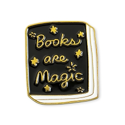Books are Magic Lapel Pin - [1'' Tall]