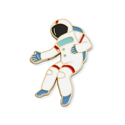 Astronaut Lapel Pin - [1 1/4'' Tall]