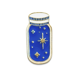 Star in a Jar Lapel Pin - [1 1/8'' Tall]