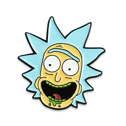 Rick Lapel Pin - [1'' Tall]
