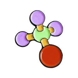 Molecule Model Lapel Pin - [1'' Tall]