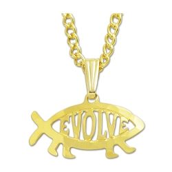 EvolveFish Cutout Necklace