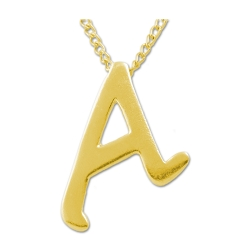 Scarlet A for Atheist Necklace - [1'' Tall]
