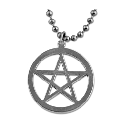 Pentacle Necklace - [1'' Diameter]