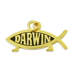 Darwin Fish Necklace - [1'' Wide]