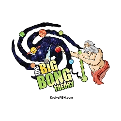 The Big Bong Theory Refrigerator Magnet - [3