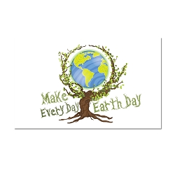 Make Every Day Earth Day Refrigerator Magnet - [3'' x 2'']
