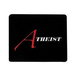 Scarlet A for Atheist Mouse Pad