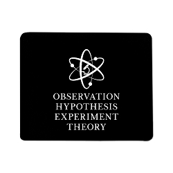Scientific Method Mouse Pad