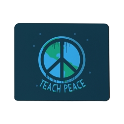 Teach Peace Mouse Pad