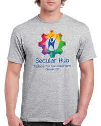 Secular Hub Men's Cotton Crew Neck T-Shirt