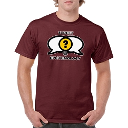 Street Epistemology Men's Cotton Crew Neck T-Shirt