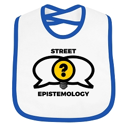 Street Epistemology Infant Toddler Cloth Bib