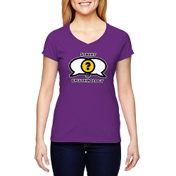 Street Epistemology Women's Cotton V-Neck T-Shirt