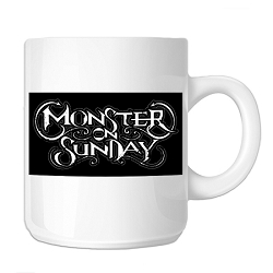 Monster on Sunday 11 oz. Coffee Mug