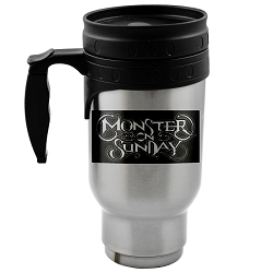 Monster on Sunday 12 oz. Travel Mug