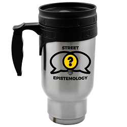Street Epistemology 12 oz. Travel Mug