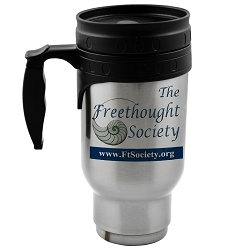 The Freethought Society 12 oz. Travel Mug