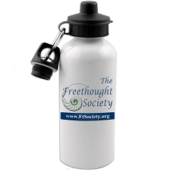 The Freethought Society Aluminum Water Bottle - [20 oz.]