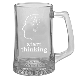 The Thinking Atheist Sport Mug - [15 oz. ]