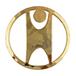Humanist Circle Lapel Pin - 7/8