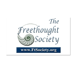 The Freethought Society Refrigerator Magnet - [3'' x 2'']