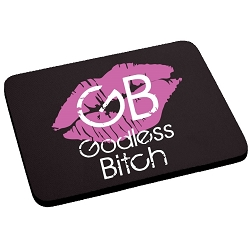Godless Bitch Mouse Pad