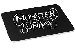 Monster on Sunday Mouse Pad