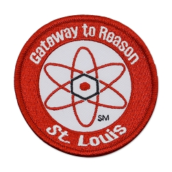 Gateway To Reason Embroidered Patch - [Red][3'' Diameter]
