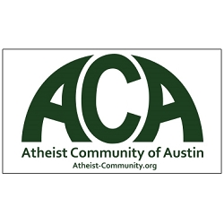 Atheist Community of Austin Bumper Sticker - [6.25'' x 3.5'']