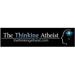 The Thinking Atheist Bumper Sticker - [11