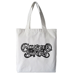Monster on Sunday Tote Bag