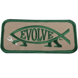 EvolveFish Embroidered Patch - [4