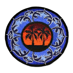 Palm Tree Embroidered Patch - [3.75