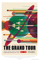 The Grand Tour Visions of the Future Poster - [11'' x 17'']