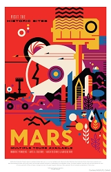 Mars Visions of the Future Poster - [11'' x 17'']