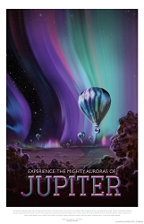 Jupiter Visions of the Future Poster - [11'' x 17'']