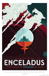 Enceladus Visions of the Future Poster - [11'' x 17'']