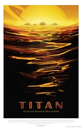 Titan Visions of the Future Poster - [11'' x 17'']