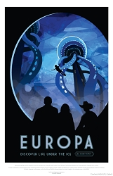 Europa Visions of the Future Poster - [11'' x 17'']