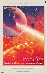 55 Cancri e Visions of the Future Poster - [11'' x 17'']