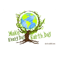 Make Every Day Earth Day Bumper Sticker - [5