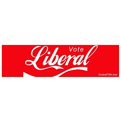 Vote Liberal Bumper Sticker 11