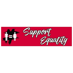 Support Equality Bumper Sticker - [11