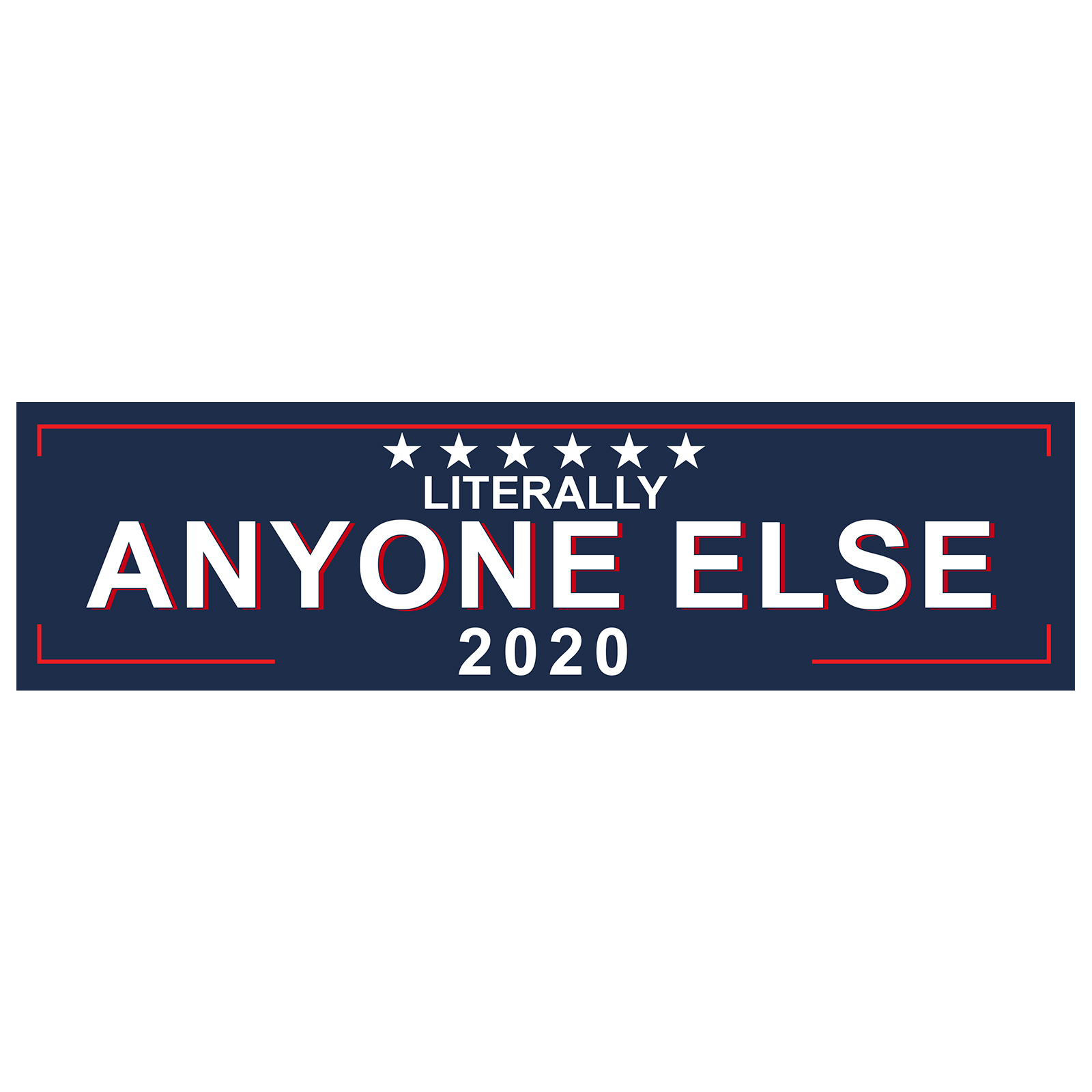 TRUMP DOES NOT BRAKE FOR SNOWFLAKES ANTI DEMOCRAT MAGA DECAL STICKER POLITICAL
