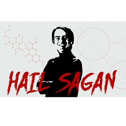 Hail Sagan Bumper Sticker - [5