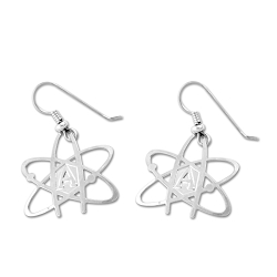 Atheist Atom Earrings - 1