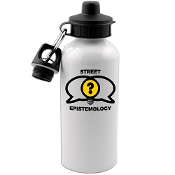 Street Epistemology 20 oz. Water Bottle